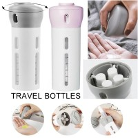 Botol Travel Set 4 In 1 Dispenser Shampo Sabun Hand Sanitizer