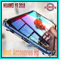 HUAWEI Y6 2018 CASE SOFT ANTICRACK ANTI CRACK CASING JELLY COVER