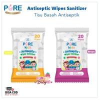 Pure Kids Tisu Basah Antiseptik Baby Wipe Antiseptic Wipes Sanitizer