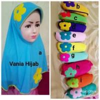 Jilbab Anak Kaos Super Harian Vania Warna