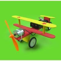 HF2205 Mainan Pesawat Rakitan Mesin Dinamo