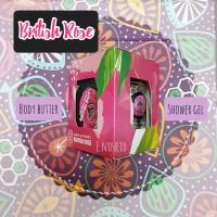 The Body Shop Original - Gift Set British Rose (B. Butter&Shower gel)