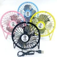 Iron fan portable usb kipas angin besi portable 6 inch