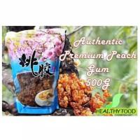 Getah Pohon Peach Gum - Tao Jiao - Collagen Natural Selected Dessert