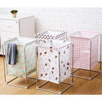 Keranjang Baju Cucian Pakaian Kotor Laundry Bag Motif Laundry Basket