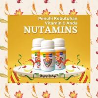 VITAMIN C, E, D3, SELENIUM & ZINC ADA DI NUTAMINS (ISI : 30 TABLET)