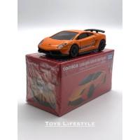 Tomica Diecast Premium 33 - Lamborghini Gallardo Superleggera (Oranye)