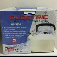 maspion teko bunyi elektrik ukuran 24 cm (pakai listrik)