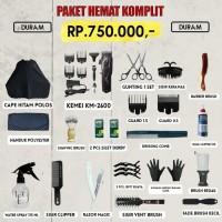 Paket Hemat Komplit Alat Cukur Rp 750.000 / Alat Barber / Alat Pangkas