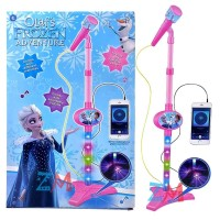 AMM - MAINAN MICROPHONE PRINCESS FROZEN 8835 - MICROPHONE ANAK