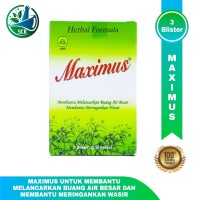 Maximus Dietary Herbal - Obat Pelancar BAB