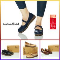 Sepatu Casual Wanita / Slip On - Leeshoes Official Store Kode KP Navy