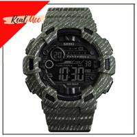 Jam Tangan Pria SKMEI 1472 Pioneer LED Sport Watch Water Resistant - Hijau