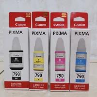 Tinta Canon PIXMA GL-790 Original G1010/G2010/G3010/G4010 - Hitam - Biru