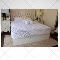 Feather Bed(Matras Topper) Bulu Angsa Asli, Type Royal 70% Down - 100cm x 200cm