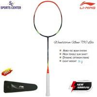 New Raket Badminton Lining Windstorm Nano 780 Lite Orange / Navy