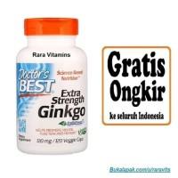 Doctors Best Extra Strength Ginkgo 120 mg 120 Veggie Caps Vitamin