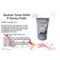 SERBUK TONER P-SERIES PUTIH SUSU PRINTER HP LASERJET MF-4570