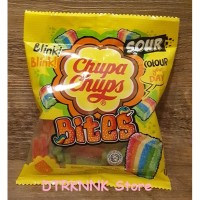 Chupa Chups Sour Bites Permen Bite Jelly 61gram Rasa Aneka Buah