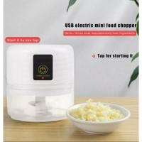 Alat Penghancur Bawang Putih Elektrik portable usb