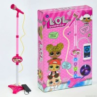MICROPHONE HELLO KITTY 8015A KADO MAINAN ANAK MIKROPON NYANYI