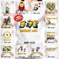 [FREE NAMA !!] Kaos Anak Minion