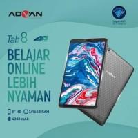 Advan Tab 8 4G LTE 3GB-16GB Dual SIM /Garansi Resmi