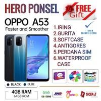 OPPO A53 RAM 4/64 GB GARANSI RESMI OPPO INDONESIA