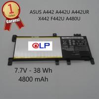 Baterai ASUS A442 A442U A442UR X442 F442U A480U Black