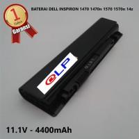 Baterai Dell 1470 14Z 1570 15Z 6DN3N Black