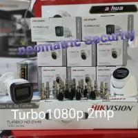 Paket CCTV TurboHD From HIKVISION 8 Kamera PLUS 2