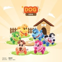 Mainan Bayi Anak Edukasi Motorik IQ Angel Putar Dog Anjing Putar