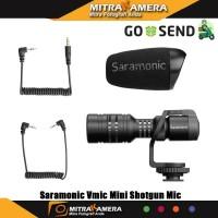 Saramonic Vmic Mini Shotgun Mic for DSLR Mirrorless and Smartphone
