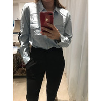 Kemeja Denim / kemeja jeans / kemeja wanita