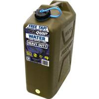 Derigen Jerigen Plastik 20 liter Fuel Can Or Water Jerry Cans ProQuip