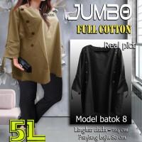 Baju Atasan Wanita / Blus Wanita / Tunik Batok / Jumbo 5L
