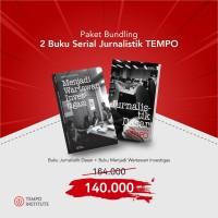 Buku Jurnalistik TEMPO | Jurnalistik Dasar + Wartawan Investigasi