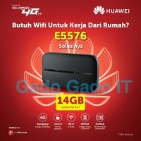 Mifi Router HUAWEI E5673 Speed 4G LTE Bundling Telkomsel 14GB