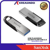 Sandisk Ultra Flair Usb 3.0 Flashdisk 32gb 64gb 128gb 256gb 512gb