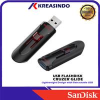 Sandisk Cruzer Glide Usb 3.0 Flashdisk 32gb 64gb 128gb 256gb 512gb