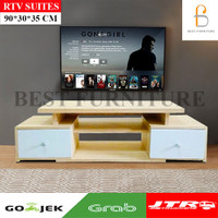 Best RTV SUITES Meja Tv Minimalis by KURIR CARGO