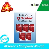AntiVirus McAfee Total Protection 1 Device 1 year + 1 year