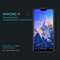 XIAOMI REDMI 6 PRO / MI A2 LITE NILLKIN AMAZING H TEMPERED GLASS CLEAR