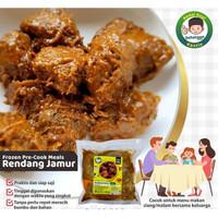 Rendang Jamur Siap Saji / Frozen Food Instan (Ready Stock)
