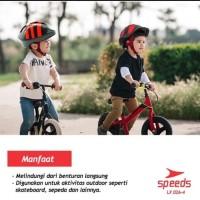 Helm Sepeda Cycling Gunung Helmet Pelindung Kepala sm 026-4 - Biru