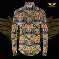 KATUN TULIS NON POLA motif 7 bahan kain batik tulis solo kemeja pria