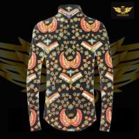 KATUN TULIS NON POLA motif 10 bahan kain batik tulis solo kemeja pria