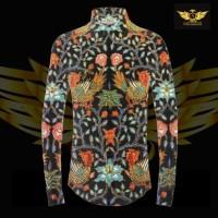KATUN TULIS NON POLA motif 2 bahan kain batik tulis solo kemeja pria