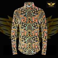 KATUN TULIS NON POLA motif 5 bahan kain batik tulis solo kemeja pria