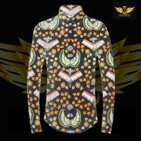 KATUN TULIS NON POLA motif 12 bahan kain batik tulis solo kemeja pria